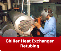 Chiller Heat Exchanger Retubing